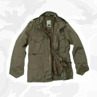 Демисезонные милитари куртки