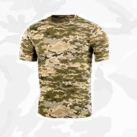 Камуфляжные футболки