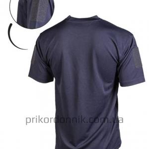 Потоотводящая футболка TACTICAL T-SHIRT QUICKDRY темно-синяя