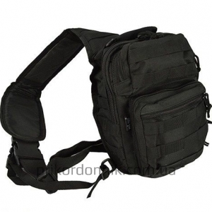 MIL-TEC рюкзак однолямочный ONE STRAP ASSAULT PACK SM black