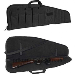 MIL-TEC Чехол для оружия BLACK RIFLE CASE WITH STRAP 140см