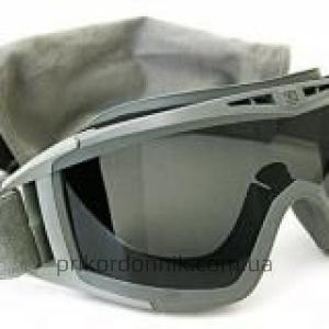 Маска-очки тактическая олива