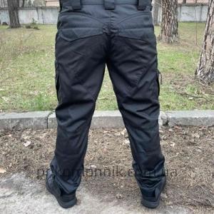 """Тактические брюки черные, """"Штурм"""""""