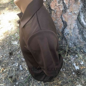 Футболка поло Quick Dry коричневая