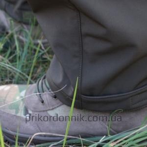 Тактические брюки Soft Shell софтшелл олива