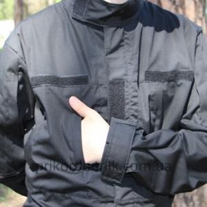 Камуфляж черный тактический
