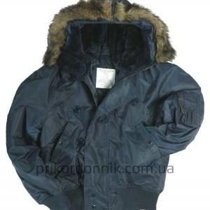 Куртка N2B Аляска темно-синяя