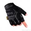 Тактические перчатки MECHANIX черные беспалые