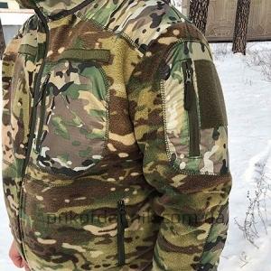 Флисовая тактическая кофта куртка Мультикам