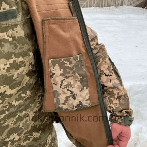 Куртка Softshell пиксель ВСУ Тактика