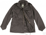 Куртка демисезонная черная US FELDJACKE M65