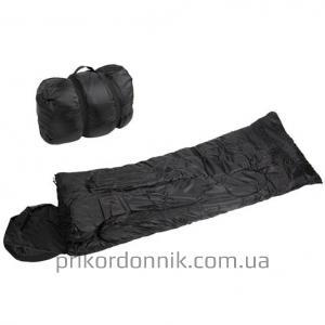 Спальный мешок 185х75 см SCHLAFSACK ′PILOT′ SCHWARZ