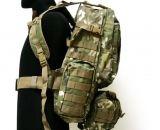 Рюкзак тактический мультикам 46 л с подсумками