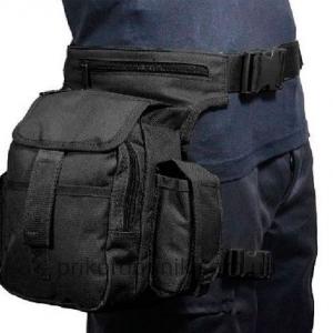 Набедренная сумка МУЛЬТИ ПАК черная