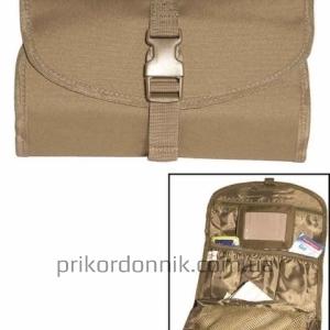 Несессер MIL-TEC сумка для туалетных принадлежностей койот