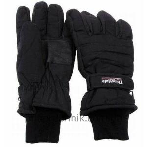 Перчатки зимние FINGERHANDSCHUHE THINSULATE черные
