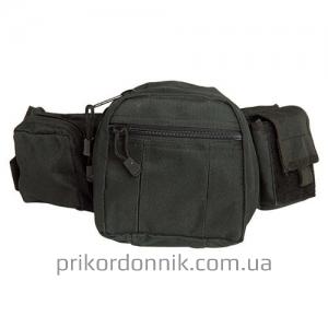 Милтек сумка-пояс Fanny pack черная