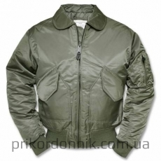 Куртка пилот US CWU FLIEGERJACKE TEESAR® OLIV