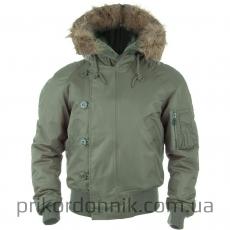 Куртка N2B Аляска олива