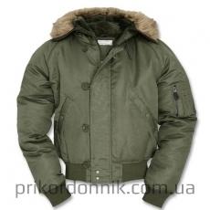 Куртка зимняя лётная N2B Аляска олива Sturm Mil-tec