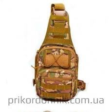 Тактический однолямочный рюкзак EDC мультикам