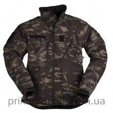 Куртка Mil-tec Softshell SCU 14 Multitarn Black