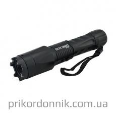 Тактический фонарь с электрошокером Police BL-1201 200000KV