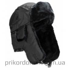 ШАПКА-УШАНКА MIL-TEC черная