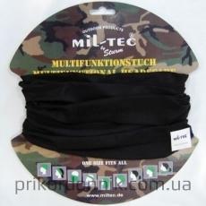 Балаклава-шарф MIL-TEC труба черный