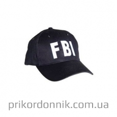 Бейсболка SCHW.  ′FBI′