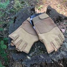 Тактические перчатки беспалые ARMY DARK COYOTE