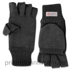 Перчатки c рукавичкой Mil-Tec черные