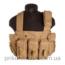 Разгрузка CHEST RIGG 6-POCKET COYOTE