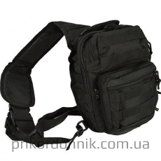 MIL-TEC рюкзак однолямочный ONE STRAP ASSAULT PACK SM black