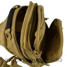 MIL-TEC рюкзак однолямочный ONE STRAP ASSAULT PACK SM койот- Фото№2