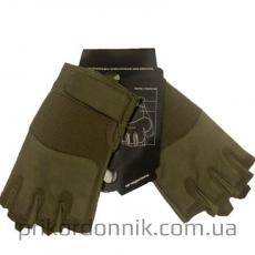 Тактические перчатки беспалые FINGERLINGE OLIV