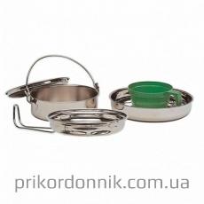 MIL-TEC Набор посуды, нержавеющая сталь на одну персону
