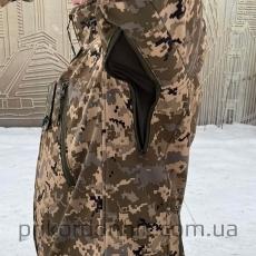 Куртка Softshell пиксель ВСУ Тактика- Фото№8