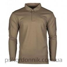 тактическая рубашка олива POLO TACTIQUE QUICK DRY MANCHES LONGUES NOIR