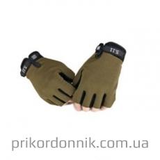 Перчатки беспалые тактические 5.11 олива