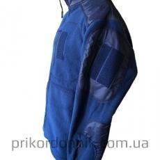 Флисовая кофта ДСНС темно-синяя- Фото№4