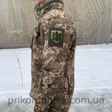 Куртка Softshell пиксель ВСУ Тактика- Фото№3