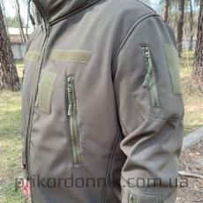"Куртка Softshell олива ""Тактик""- Фото№4"