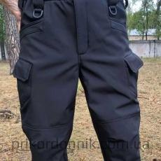 Тактические брюки Soft Shell Urban Black