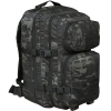Рюкзак 36 л MIL-TEC US ASSAULT PACK LG LASER CUT MULTITARN® BLACK