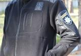 Флисовая кофта тактика черная (Полиция)
