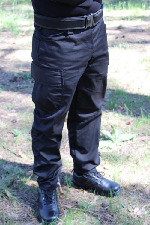 Тактические брюки черные