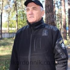 Флисовая кофта тактика черная Полиция- Фото№2