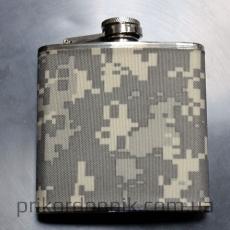 Фляга карманная камуфлированная Mil-Tec