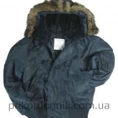 Куртка лётная N2B Аляска темно-синяя